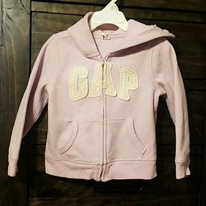 Baby gap hooded fleece sweatshirt